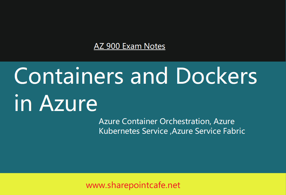 Azure Docker and Container